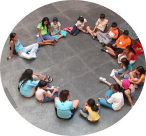 Grupo sentado