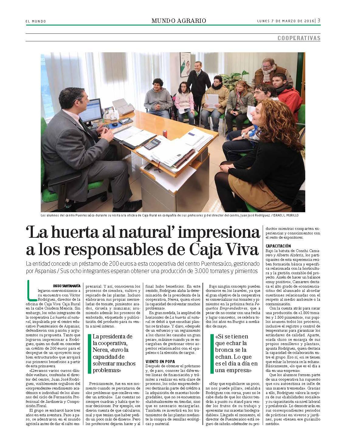 El Correo Mundo Agrario 07-03-2016