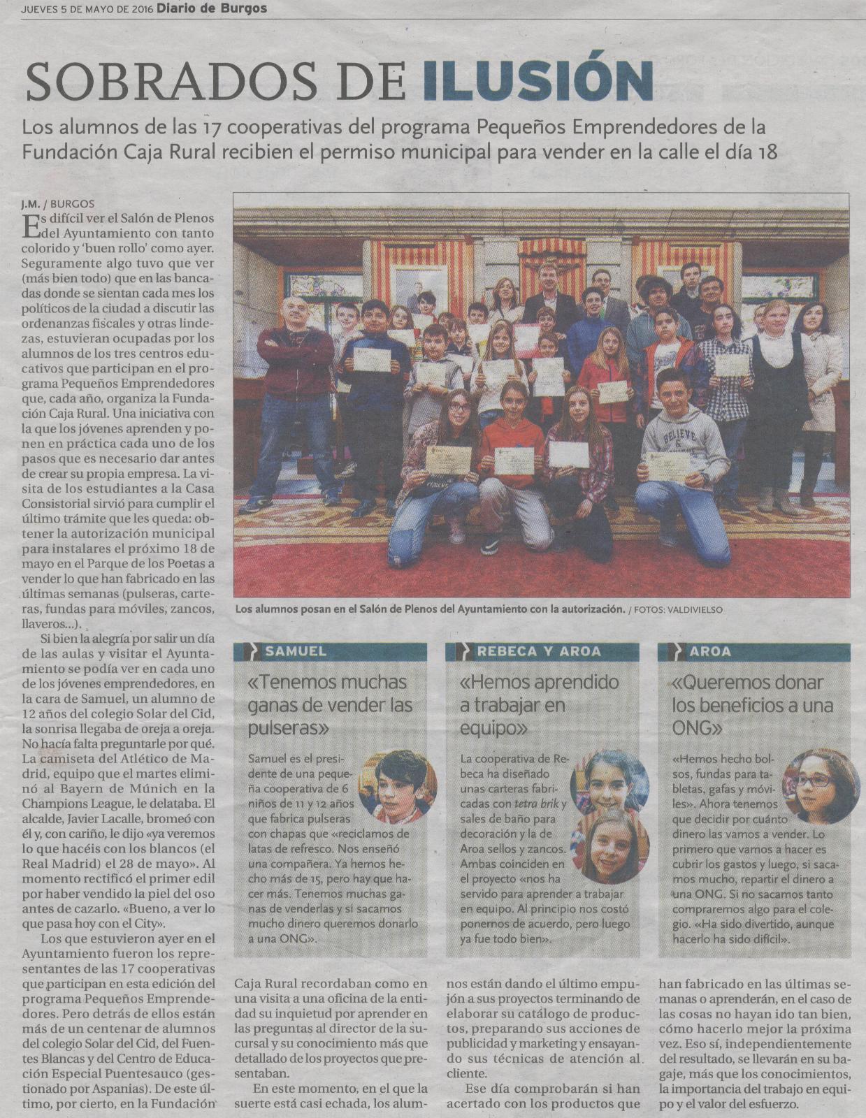 Diario de Burgos 05-05-2016