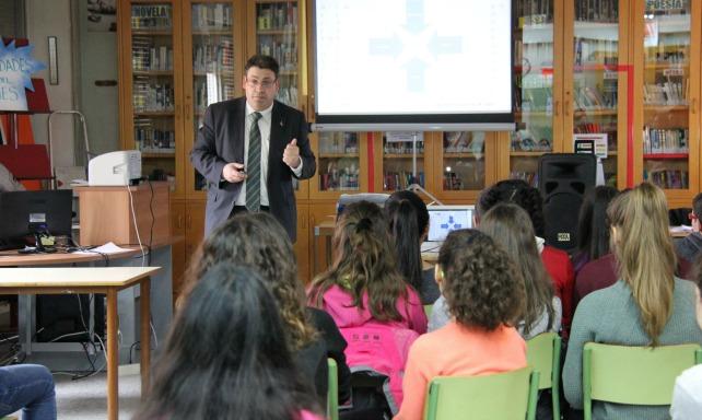 Foto Charla Educación Financiera