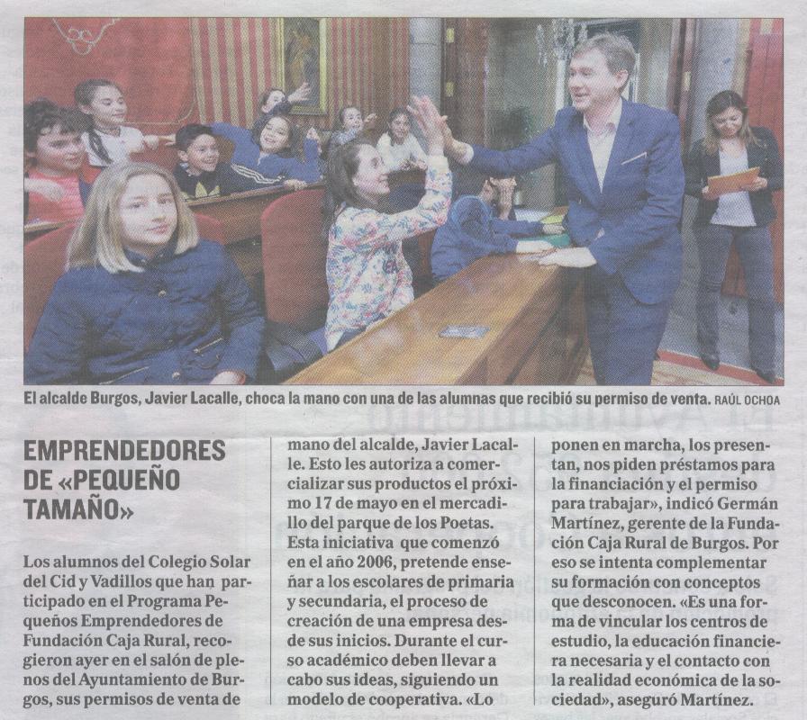 El Correo de Burgos 10-05-2017