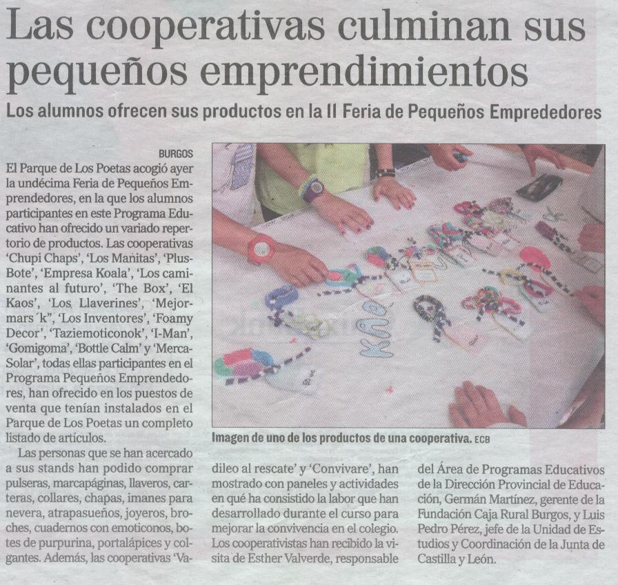 El Correo de Burgos 18-05-2017