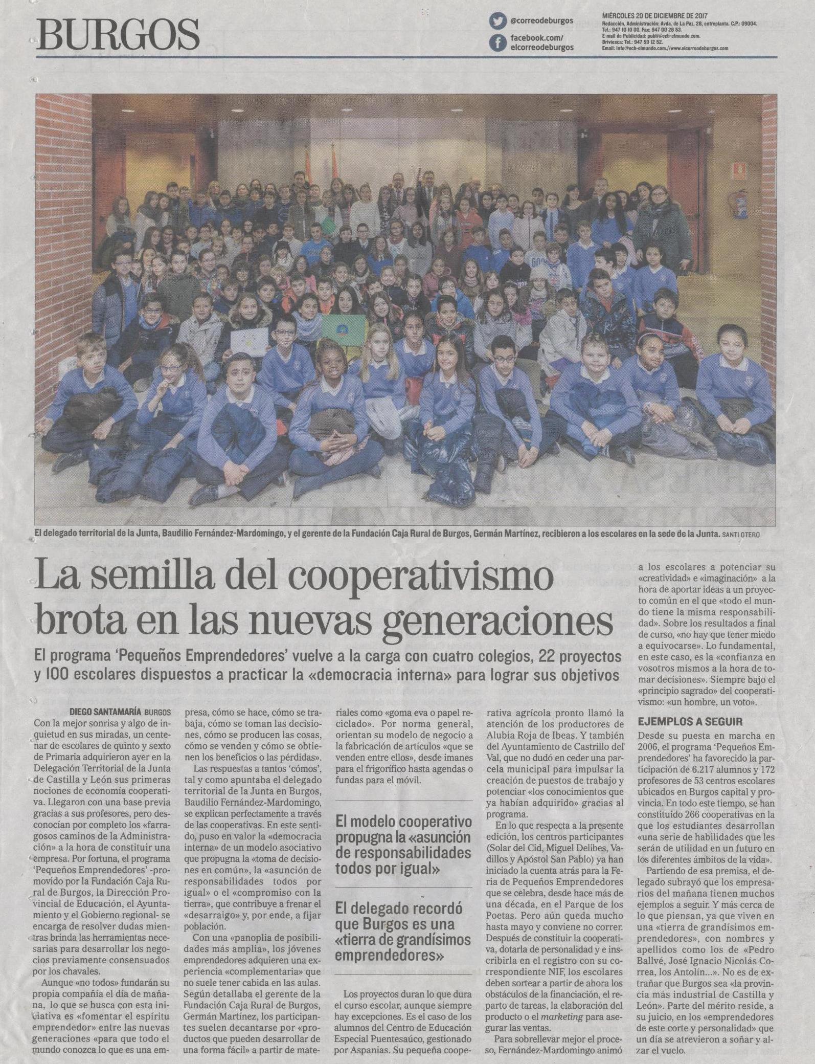 Correo de Burgos 20-12-2017