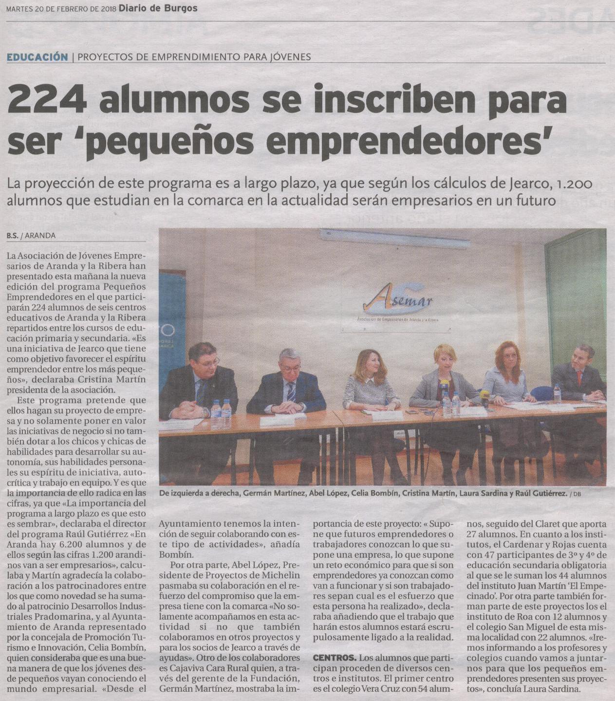 Diario de Burgos 20-02-2018